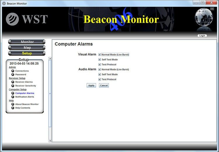 WST FBM200 Beacon Monitor