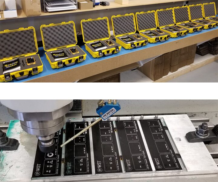 WST Beacon Tester Production
